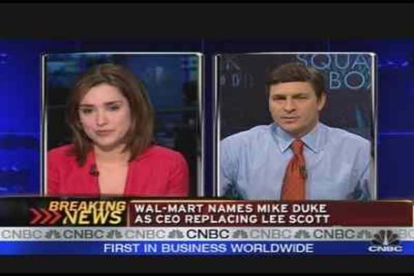 Wal-Mart New CEO