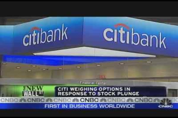 Citi's Next Move