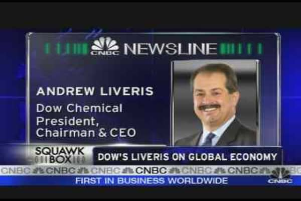 Dow Chemical CEO on Credit Crisis
