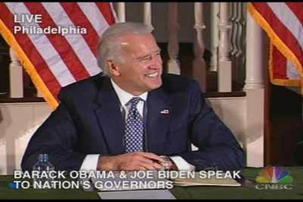 VP-Elect Biden Addresses Governors