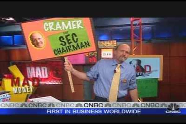 Cramer for SEC Chair