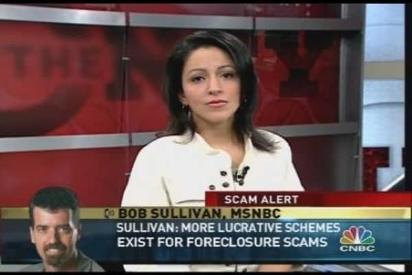 Mortgage Foreclosure Scams