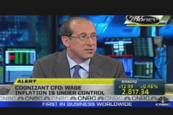 Cognizant Tech  CFO on Outsourcing Boom