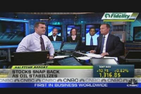Stocks Snap Back