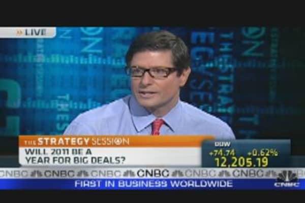 Takeover Talk Heats Up Market
