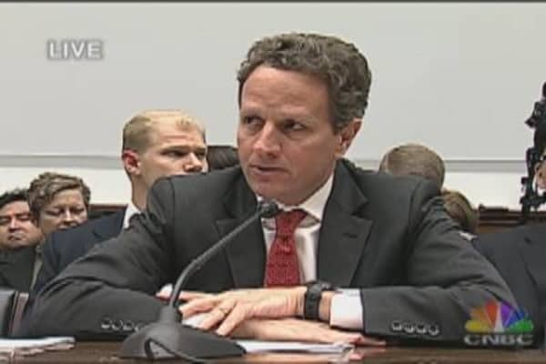 Sec. Geithner on Mortgage Finance Reform