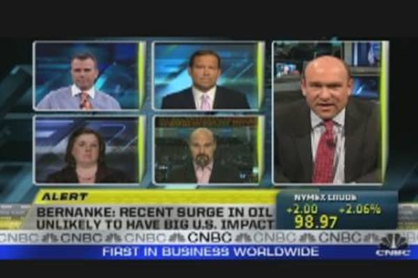 Stocks Hit Low as Oil Rises