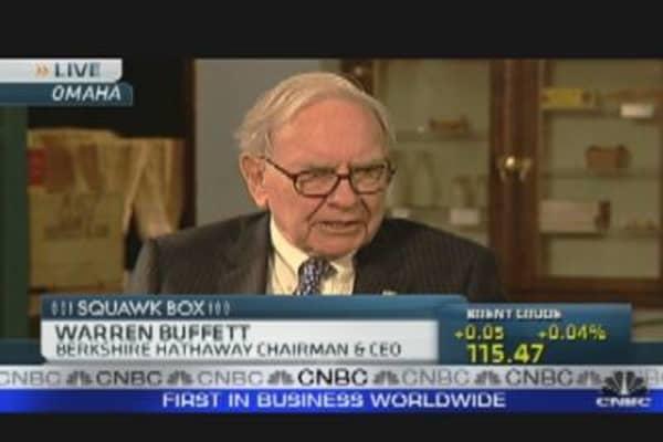 Buffett Hints at Next Deal