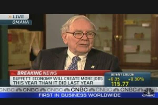Buffett Worried About Inflation