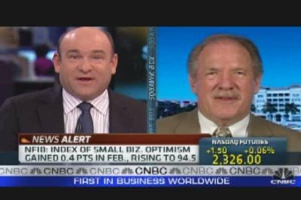 Small Biz Optimism on Tap