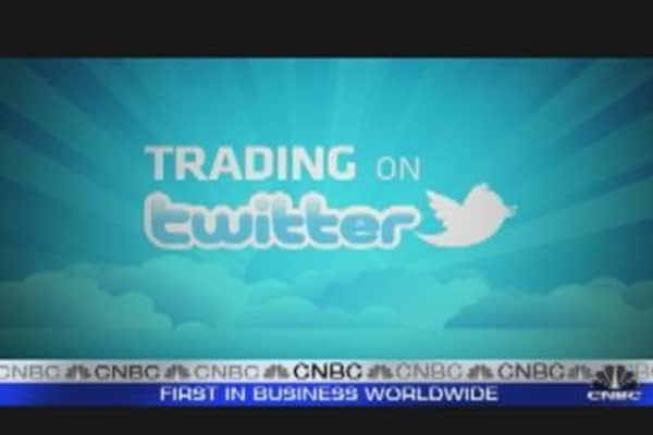 Trading on Twitter