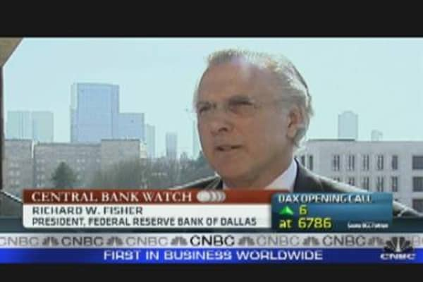 Fed's Fisher: US Recovery is Sustainable