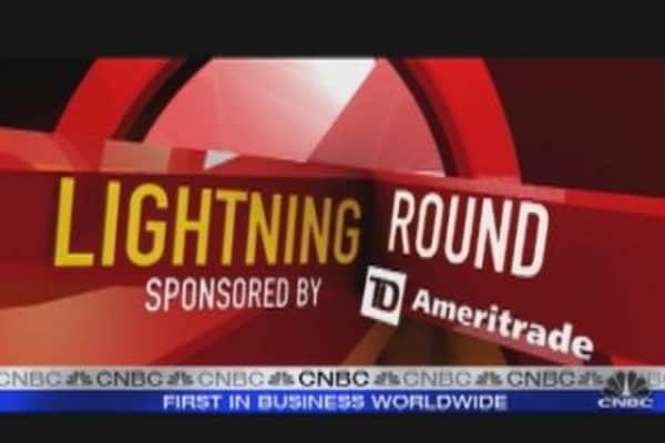 The Lightning Round