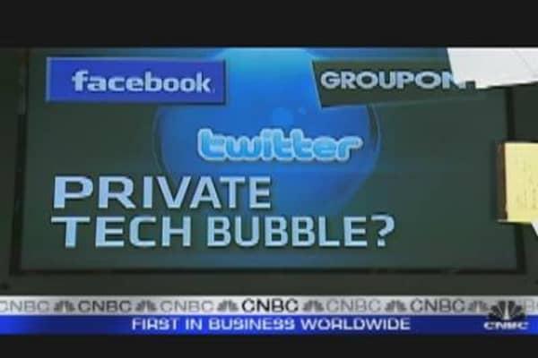 Private Tech Bubble