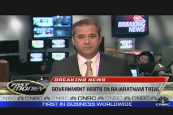 Gov Rests Rajaratnam Case