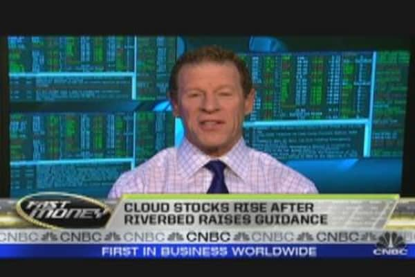 Cloud Names Rise on Riverbed's Accouncement