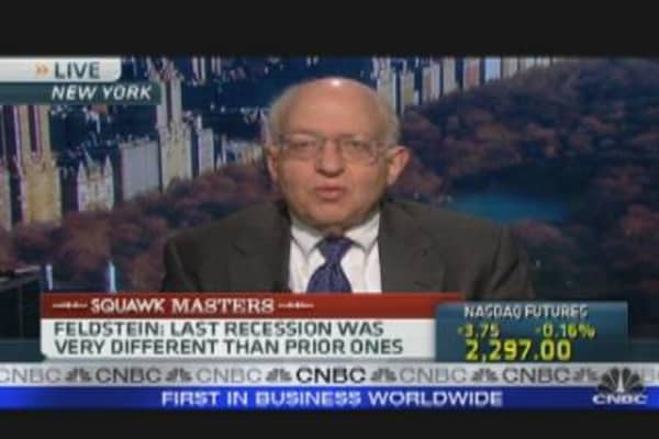 Bearish on Econ: Feldstein