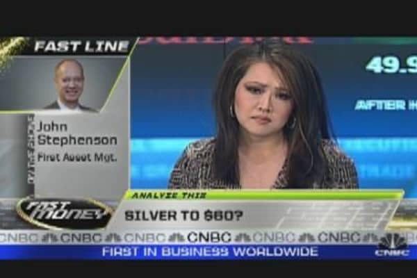 Silver to $60, Gold to $1,750?