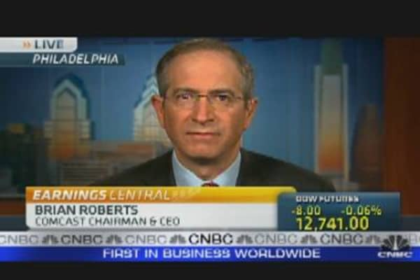 Comcast CEO on Earnings