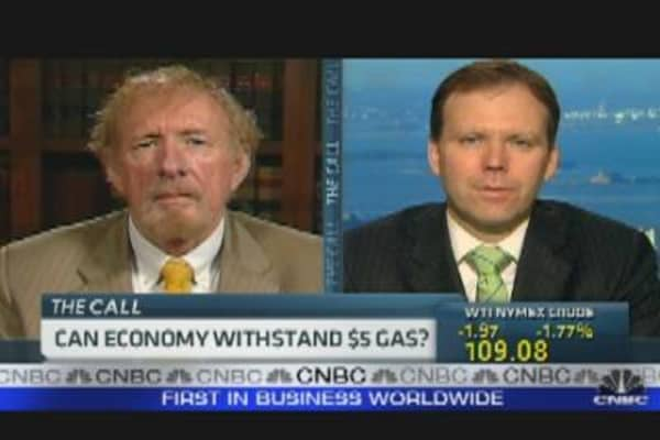 Can the Economy Withstand $5 Gas?