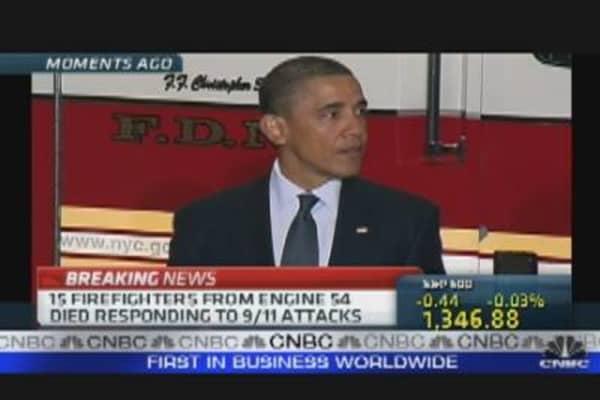 President Obama in NYC