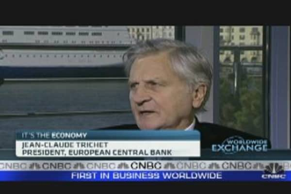 Fall in Oil Prices Is Positive: Trichet