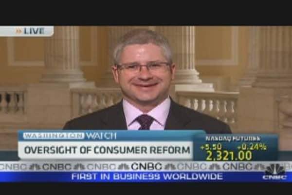 Oversight of Consumer Reform
