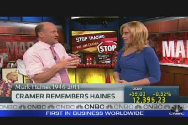 Stop Trading: Cramer Remembers Haines