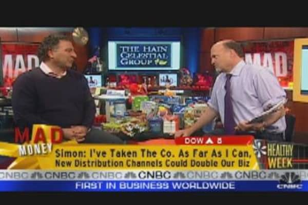 HAIN CEO Speaks to Jim Cramer