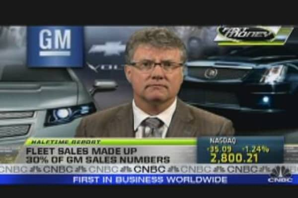 GM  May Sales Down