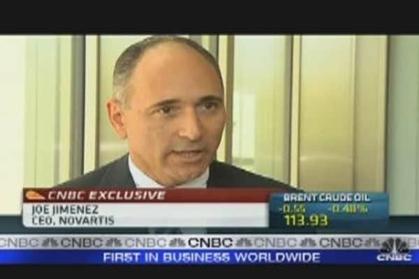 Novartis CEO, Joe Jimenez