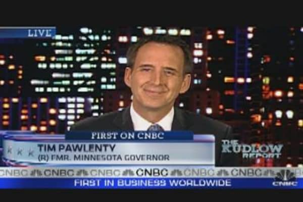 Pawlenty Delivers Economic Message