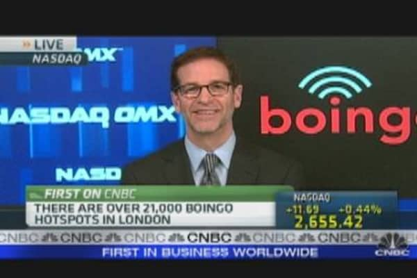 Boingo's Big Stock Problem