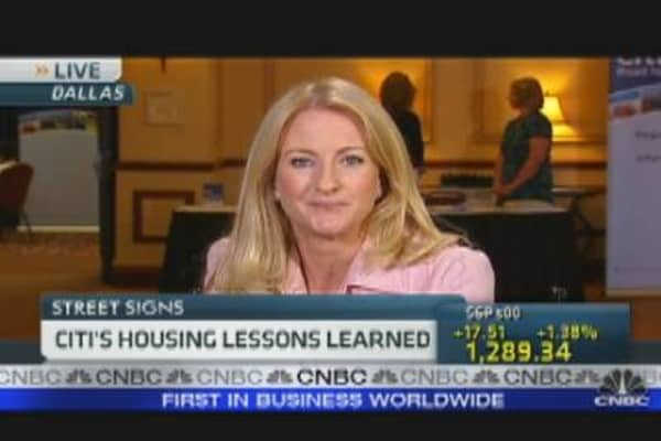 Citi's Housing Lessons Learned