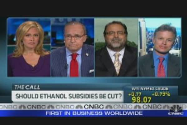 Should Ethanol Subsidies Be Cut?