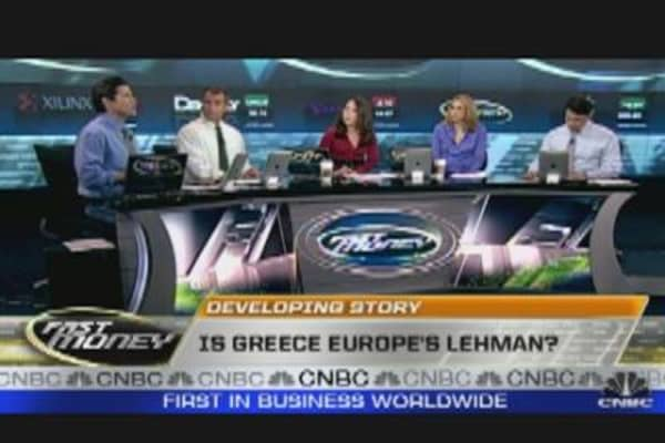 Is Greece Europe's Lehman?
