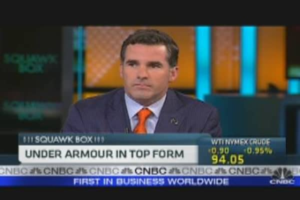 Under Armour CEO: Staying Competitive
