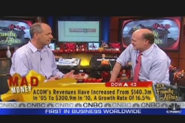 ACOM CEO Speaks to Cramer