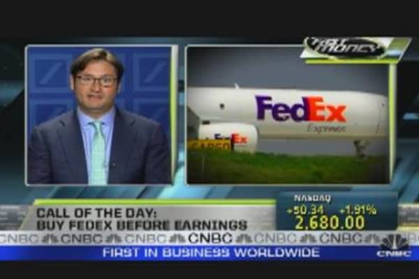 Buy FedEx Ahead of Earnings?