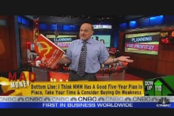 Cramer's Bullish on MMM