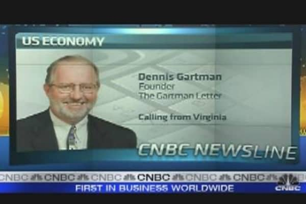 Dennis Gartman: Bernanke Not Overtly Pessimistic