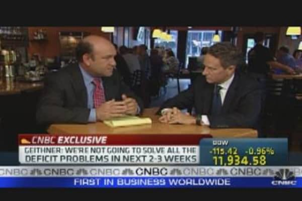 Geithner on Economy & Debt Reduction