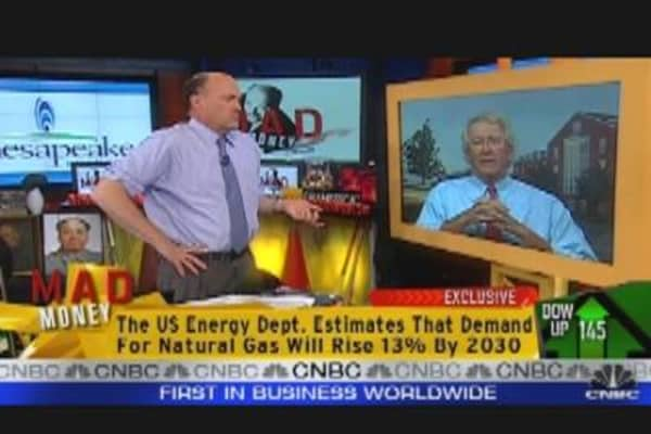 CHK CEO Talks Nat Gas with Cramer