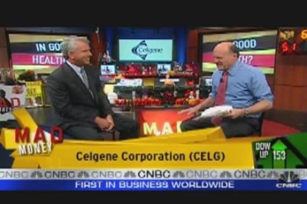 Celgene CEO Speaks to Cramer