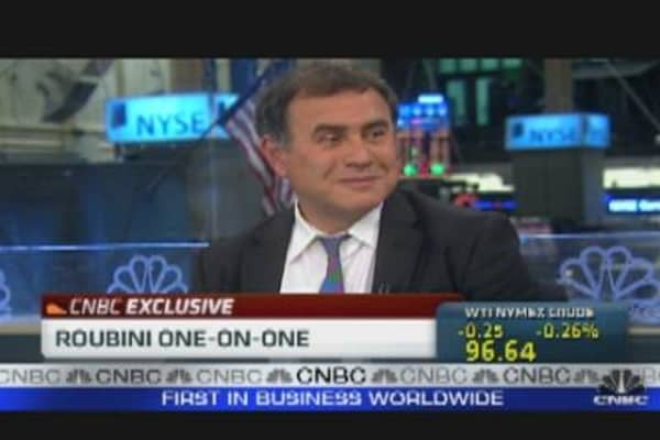 Roubini on 'Perfect Storm'