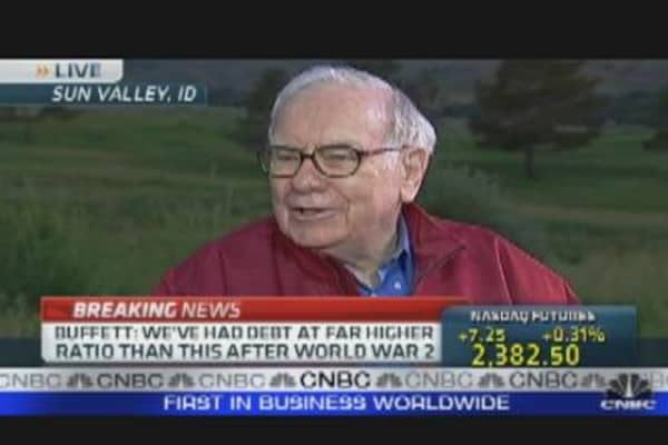 Buffett's Solution to End the Deficit