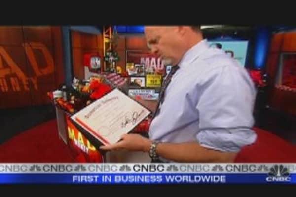 Cramer's Risky Business