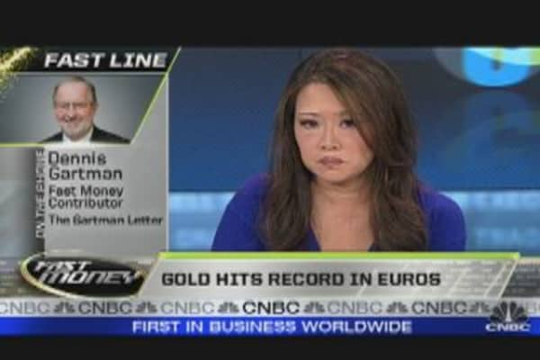 Europe's Woes to Boost Gold: Gartman