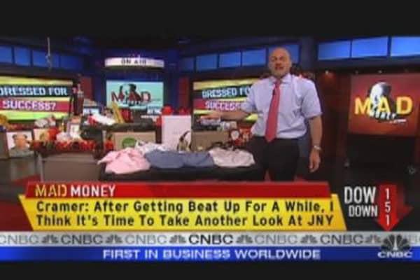 Cramer's Bullish on Jones Group