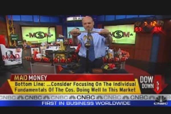 Cramer Weighs on the Market